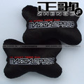 free shipping 2pairs Mazdaspeed MAZDA car brand LOGO car pillow headrest neck pillow