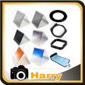 10 1 filter set gradient mirror x3 nd mirror +58mm adapter ring +filter holder+filter bag case +Lens Hood & Holder for Cokin P