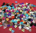 500Pcs Acrylic Mixed Butterfly Flatback Cabochon Scrapbook 10x9mm