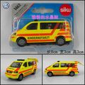 Vw ambulance car commercial car alloy car model toy car