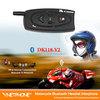 1bt intercom bluetooth 500m mp3 Wireless walkie talkie gps motorbike helmet headsets motorcycle Bluetooth intercom