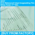 "ECO Waterproof Inkjet Printing Film Clarity Finish 17""*30M"