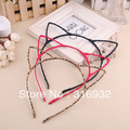 Free shipping new design cute cat ears shaped party Hair hoop, mix shipping