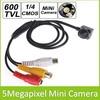 "1/4"" HD 600TVL 5.0 Megapixel Mini Video CCTV Camera For Home Office Indoor Security Surveillance"