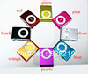 Free Shipping High Quality Mini Clip MP3 Player with Micro TF/SD Card Slot without Retail Box, 8 Colors