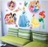 princess girl room Nursery art peel and stick art wall sticker decal 33x60cm Free shipping F144