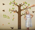 free shipping Living room bedroom wall stickers You can remove the amount of children's room doll Height stickers F170