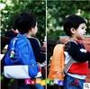 Free shipping! Retail Kocotree children's backpack violence bear cartoon bag baby PU school bag backpack children backpack