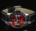 Classic Mens Skeleton Mechanical Watch cool Mechanical watch Wrist Watch 2013 Gift Free Ship