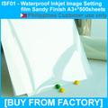 Inkjet Printing Film Transparent Waterproof A3+*500sheets