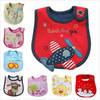 Mixed sales cotton baby bibs waterproof infant bibs -(send by boys' or girls') 45pics for choose 5pcs/lot
