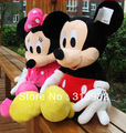J1 78CM Big Mickey Mouse and Minnie Mouse plush toy Christmas gift, 1pc