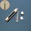 Name On Rice Vial Jewelry , Glass Vials For Rice Jewelry ,Rice Jewelry, Rice Vials - Cylinder (6MM Glass Vials)