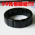 [Free Shipping] Polka dot obsidian bracelet Men obsidian hand row apotropaic fortune