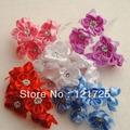 Satin Flowers Home Decoration crafts Scrapbooking Decor 5 Colors Mini artificial Flowers DIY Small Wedding Bouquet