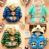 1 Set Retail, The girls warm winter coat. Hot Children's coat (High quality, the girls coat Children's clothes, girls jacket,