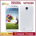 New arrival Star i9500L i9500 S4 804L 5.0'' 1GB+4GB MTK6589 1.2GHz (854*480) 2800mAH*2 cheappest Quad Core smartphone Z#