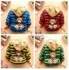 NEW!retail,baby boy jacket 1pcs/1lot boy clothing 100% cotton striped  children's winter outerwear,fashion bear coat 4 colors