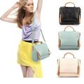 New Korean Style PU Leather Women's Handbag Messenger Bag Shoulder Bag Tote Bag