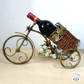 Wholesale price Fashion wine rack fashion iron crafts decoration home wine cooler decoration gift