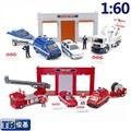 Free shipping Engineering car set series trailer model toy ingenues