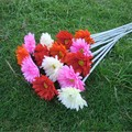 Gerbera artificial flower French silk flower artificial flower decoration flower plastic flower artificial flower rustic