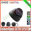 Dome Camera 24 LEDs Cmos 700TVL Color Night Vision Indoor security CMOS IR surveillance CCTV Camera +Free Shipping