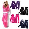 2014 Autumn Women Tracksuit Sport suit Clothing sets Casual Outfits 2pcs/set Sweatshirts+pants Brand Sportswear