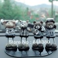 Car toys decoration resin doll spring doll car accessories free shipping