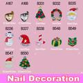 Wholesale Fashion 3D BOW Shape Metal Nail Art Decoration / Cellphone Rhinestone Glitters Decoration, 100pcs/lot + Free Shipping