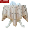 Table cloth fabric table cloth tablecloth table runner placemat customize rustic brief fashion modern round table