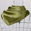 New 2013 scarf green women's triangle scarf spring and autumn small facecloth