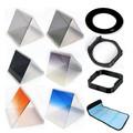 10 1 filter set gradient mirror x3 nd mirror +52mm adapter ring +filter holder+filter bag case +Lens Hood & Holder for Cokin P