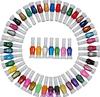 60 Colors Nail Pen Varnish Polish Tool Set & 2 Ways Nail Art Brush Diy