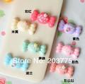 Free shipping ! 200pcs kawaii flatback resin Strawberry Candy cabochons home decor diy phone decoration Around:31*15mm