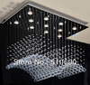 Chandelier LED light Ceiling lamp Geese Design K9 Crystal Thick base Hotel Living room Wonderful Quality Modern Energy saving