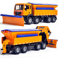 Wholesale 5pcs Toy car alloy engineering car snow removal vehicles model bulldozer special car =wjc5
