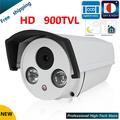 "Free shipping Newest CCTV camera 900 TVL 1/3"" Sony 960HD CCD High Resolution 2 IR LED Bullet Camera Surveillance security camera"