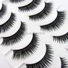 Fashion 8 pairs Hand Made false eyelashes fake eye lash fashion makeup Beauty Tools N612 Black