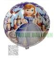 Free Shipping 18 inches Sophia Foil Balloons,50 pcs/Lot helium balloon,cartoon design balloon