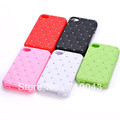 New arrival! New Fashion1PC Luxury Bling Diamond Crystal Soft Silicone Case Cover For Apple iphone 4 4s Free shipping&Wholesale