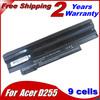 Laptop Battery For Acer Aspire one 360 (D260) 522 722 AOD255 AOD257-N57DQbb D255 D255E D257 D257E D260 D270 E100 happy happy2