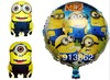 3 Style Mixed Wholesale cartoon Despicable Me 2 balloons kids birthday party decorations Inflatable toys gifts for children game