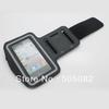 black Gym Jogging mobile Phone Arm Band Case holder cover bags For iphone 5 5G 5S 5C Solf Belt Neoprene Running Sport Armband