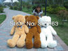 gift for Christmas ,kid's toys,1.4m bear plush teddy bear shell no pp cotton teddy coat 140cm large size bear clothing, 4 colors