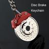 Disc Brake Model Keychain Creative Accessories Hot Sale Auto Parts Keyring Key Chain Ring Holder Keyfob