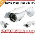 700TVL CCTV bullet camera with 3.6mm IR LEDs built in 24pcs IR LEDs security bullet  camera
