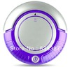 3 in 1 Mini Robot Vacuum Cleaner (Vacuum, Sweep, Mop) , Removable 2 Side-brushes, Beautiful Flashing LED Lights,3 Working Modes