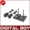 2.4GHz Signals 4 Channels AV Audio Video Sender Wireless Transmitter Receiver For CCTV Camera DVD VCR DVR