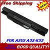 Laptop Battery For Asus A43E A43S K43E K43S X43E X43S X43E A43T K43T K43U A53E A53S K53E K53S K53T X43U K53U